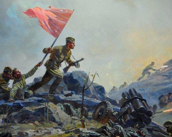 Иван Яцуненко, фрагмент диорамы