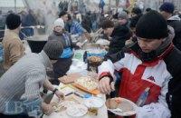Один день Майдана обходится в 500 тыс. гривен