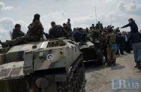 Военные возвращаются из Краматорска в места постоянной дислокации