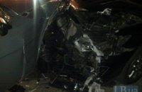 Механик СТО в Киеве взял покататься машину клиента и разбил три автомобиля