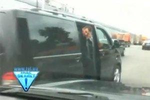 Пресс-служба Кабмина: скандальный кортеж - не Азарова