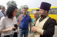 Учасники хресної ходи дісталися до Києва (оновлено)