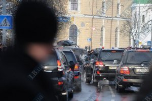 ГАИ напоминает днепропетровцам, как вести себя, увидев кортеж Януковича