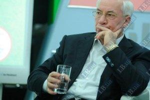 Азаров зовет все партии вместе бороться с кризисом