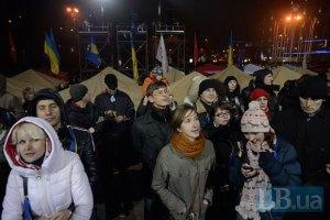 Оппозиция призывает Евромайдан пикетировать завтра Кабмин