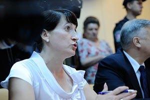Фролова не верит, что у Тимошенко проблемы со спиной