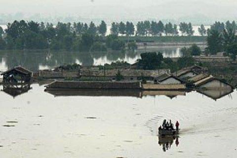 ООН: неменее 100 человек погибли при наводнении вСеверной Корее