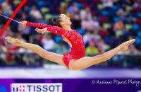 Украинка стала чемпионкой мира по художественной гимнастике