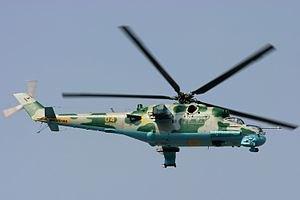В Луганской области сбили вертолет, экипаж погиб