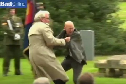 Посол Канады в Ирландии применил навыки охранника