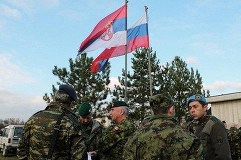 На Балканах обеспокоены участием РФ в военных учениях в Сербии