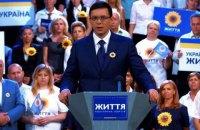 Телеканал NewsOne попался на рекламе партии Рабиновича и Мураева