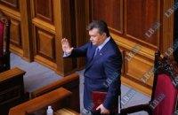 Янукович пришел на вечернее заседание Рады