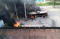 Террористы ведут минометный обстрел украинского блокпоста под Краматорском
