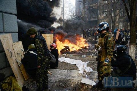 Кабмин предложил предоставить пострадавшим наМайдане статус участника военных действий