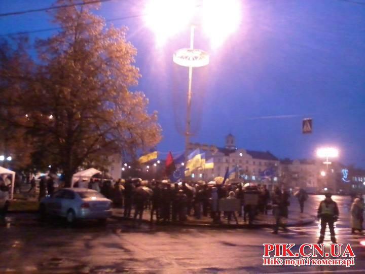 Митинг в Чернигове