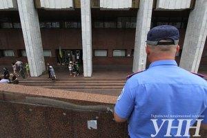 """Милиция задержала подозреваемого в организации взрыва возле """"Украинского дома"""""""