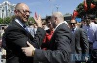 """Оппозиции в Парке славы кричали """"Бандера капут"""" и """"фашисты"""""""