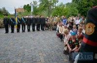 В Киеве попрощались с погибшим комбатом Андреем Жуком