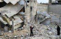 В ЕС допустили, что удары по Алеппо могут являться военными преступлениями