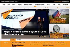 Россия запустила новый пропагандистский сайт на английском языке