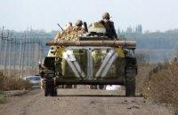 Двох військових поранено, один загинув у зоні АТО з початку доби
