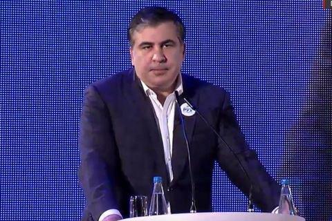 Саакашвили пообещал приехать в Грузию в случае победы его партии на выборах