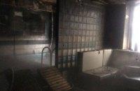 В Одессе сгорела сауна