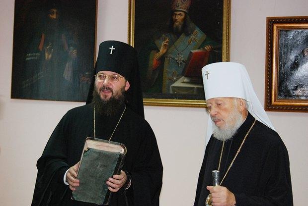 Владыка Антоний и митрополит Владимир