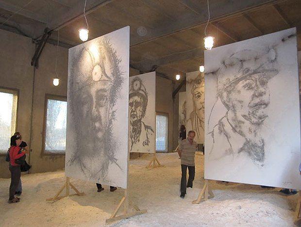 Выставка художника художника Цая Го-Цяна. ИЗОЛЯЦИЯ. Платформа культурных инициатив