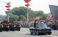 В Минске прошел военный парад по случаю Дня независимости