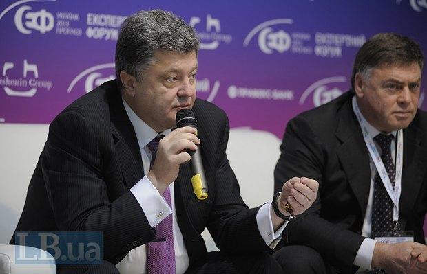 Петр Порошенко, народный депутат Украины, бывший министр экономики и экс-глава МИДа