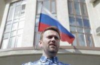На Навального напали с тортами (Обновлено, добавлено видео)