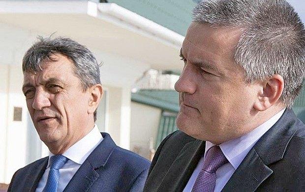 Сергей Аксенов(справа) и Сергей Меняйло