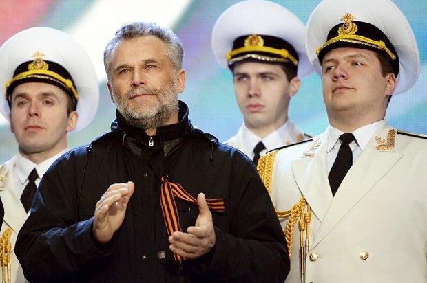 Алексей Чалый во время концерта в Москве