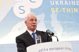 Азаров пообещал Украине газ по 120 долларов