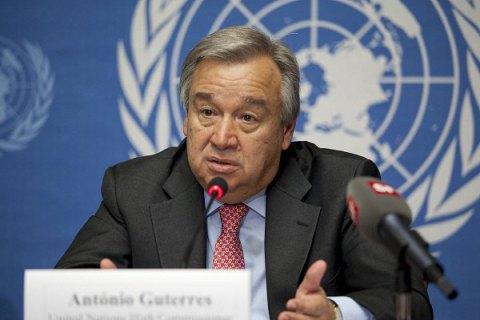 Новым генеральным секретарем ООН стал прежний премьер Португалии Антониу Гутерреш