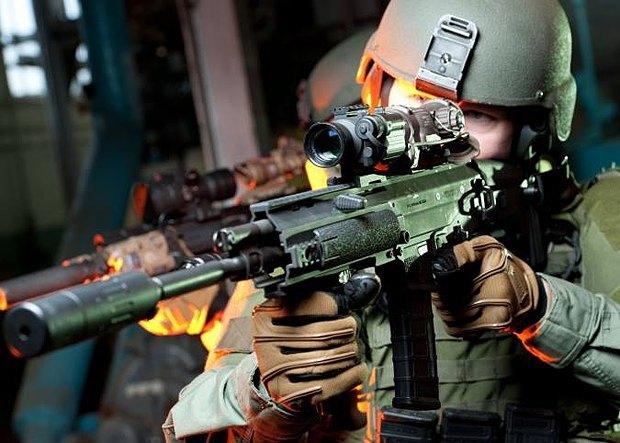 Снайперская винтовка с теплоприцелами