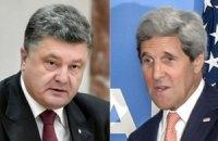 Керри после встречи с Путиным позвонил Порошенко