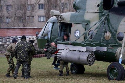 Семь военных погибли на Донбассе в понедельник