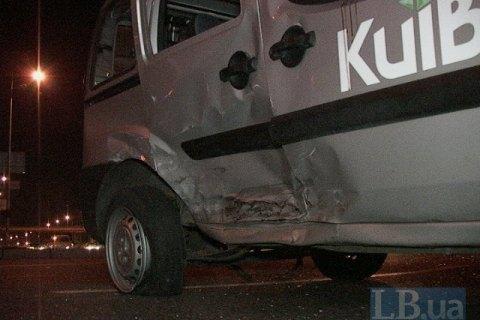 В Киеве в ДТП пострадал журналист одного из телеканалов