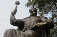 В Полтаву привезли памятник Мазепе (Добавлено видео)