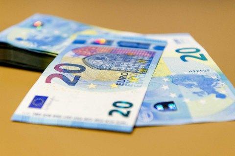 ЕЦБ ввел в обращение новую купюру в 20 евро