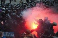 В столкновениях на Банковой пострадали более сотни милиционеров