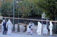 При взрыве гранаты возле посольства Франции в Афинах пострадал человек