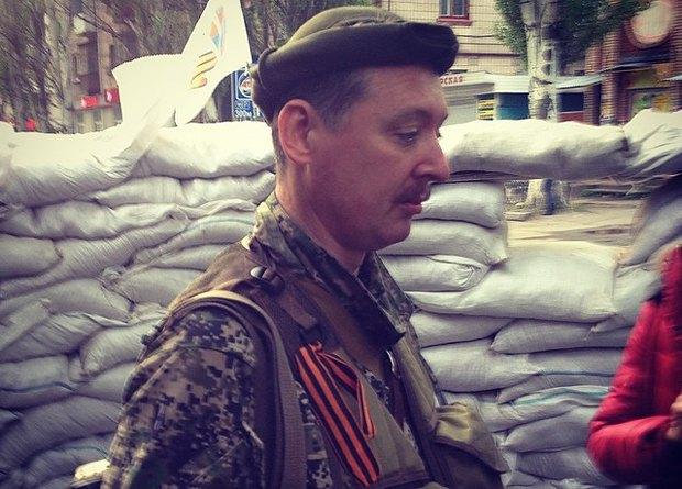"""Командующий отрядом """"самообороны"""" Славянска Игорь Стрелков"""