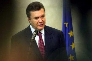 Янукович выступает за углубление отношений с Италией