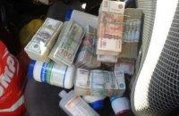 У жителя Луганска на пропускном пункте нашли $100 тысяч