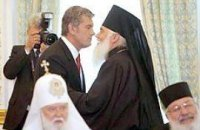 Ющенко попросил помощи у Совета церквей