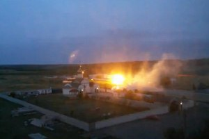 Минобороны: авиация АТО рассеяла террористов у управления пограничников в Луганске